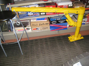 lifting boom  brand new 1,000 lb (yellow)
