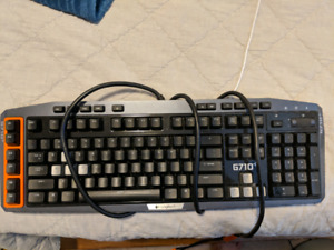 Logitech g710+ keyboard and mx Master 2s bluetooth mouse