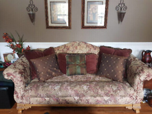 Victorian Sofa and matching chair