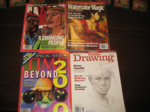 Various Books and Magazines