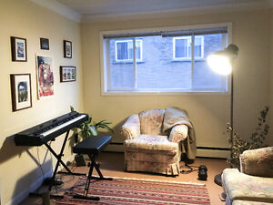 One Room for Rent in Two Bedroom Apartment (Downtown) -MAY 1ST