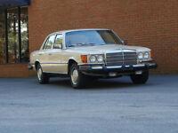 1975 W116 Mercedes Benz 450 SE, V8 - collectors condition