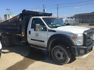 2012 XL Ford F-550 v10 Gas with 12ft Dump