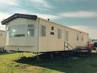 8 berth platinum van to rent at Crimdon Dene - complex still open in sept/oct