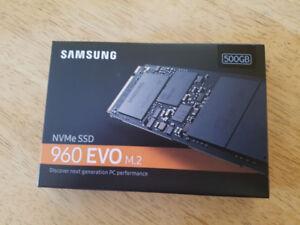 SSD NVME 960 Evo de 500Gb Neuf et Sceller Prix Débaras