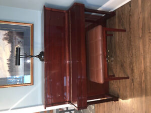 Beautiful Mahogany Upright Nordheimer Piano