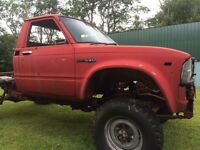 1983 Toyota pick up short box