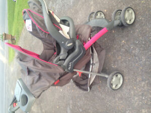 Girl Stroller and car seat