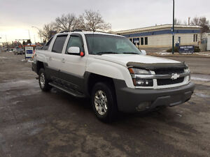 2002 Chevrolet avalanche a new engine replaced