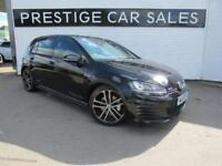 2015 Volkswagen Golf 2.0 TDI BlueMotion Tech GTD DSG 5dr Diesel black Semi Auto