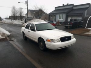 Ford crown victoria police 2008
