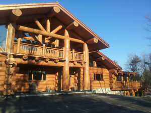KEA LOG HOMES !! READY TO BUILD FOR YOU TODAY !!