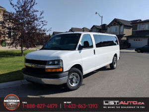 2012 Chevrolet Express G2500 14-Passenger - cln hstry+wntr set