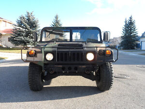 Humvee 1993 AM General Hummer Military Pickup Truck-M998A2 HMMWV