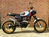 2020 BULLIT MOTORCYCLES HERO 125 ON ROAD TYRES 2 YEAR WARRANTY RETRO SUPERMOTO