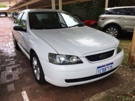 2005 Ford Falcon XT BF White Auto - $2500