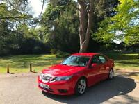 2009 Saab 9-3 1.9TTiD ( 180ps ) Vector Sport 4 Door Saloon Red