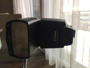 Canon Flash speed lite 430 EX II for digital camera