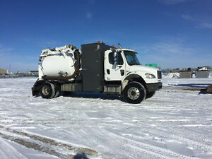 Single axle 4x4 hydrovac