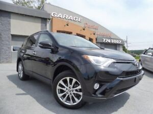 Toyota RAV4 LIMITED AWD, CLEAN TITLE, TRÈS LÉGER DOMMAGES 2017