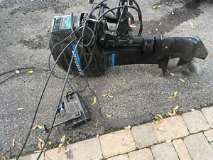25 hp Mercury with controls - no spark