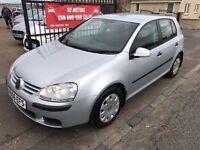 2006 VW GOLF 1.9 TDI S, 11 MONTH MOT, WARRANTY, NOT A3 FOCUS ASTRA MEGANE S40