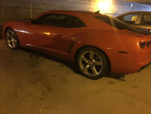 2010 Camaro SS inferno orange