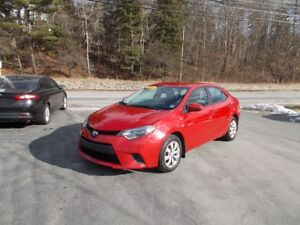 2014 TOYOTA COROLLA LE LOADED $13900 EXCELLENT CONDITION!