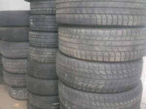 SNOW tires 225 60 16 - LIKE NEW