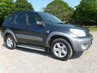 SEPTEMBER 2004 TOYOTA RAV4 XT3 D4D 2.0 DIESEL 5 SPEED MANUAL 75K FULL SERVICE HISTORY TWO OWNERS