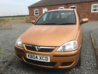 QUICK SALE - Corsa 1.0 5dr 2004 model