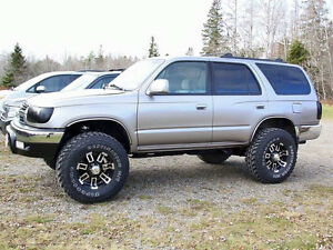 2002 Toyota 4Runner lifted