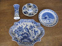 Delft Blue pottery