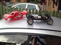 HPI Rush Evo Spair or repair nitro car not 2 stroke