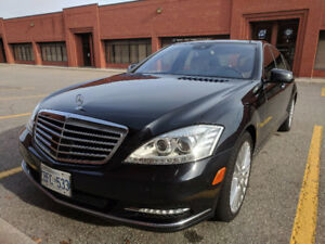 2011 Mercedes-Benz S-Class S550 Sedan