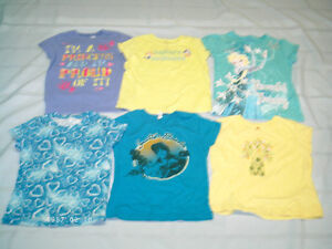 Girls T-shirts size 7 in first picture and 7/8 in 2nd picture Kitchener / Waterloo Kitchener Area image 2