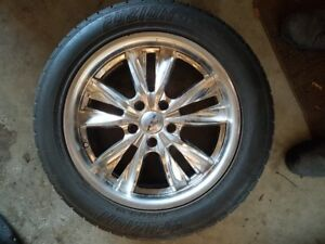 "17"" Rims and 215 55 R17 Tires 200"