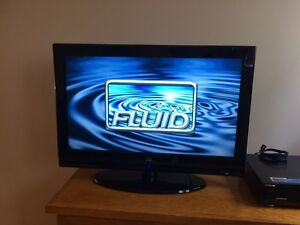 "Moving sale - 32"" LED TV, DVD player and TV table"