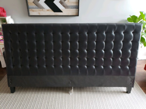 Leather King Headboard