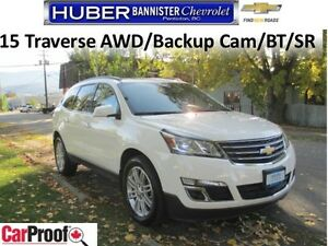 2015 Chevrolet Traverse AWD/Heated Seats/Sunroof