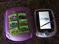 Leap Pad Explorer and games
