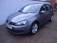 Volkswagen Golf 1.6TDI ( 105ps ) BlueMotion Tech SE 2010 5-Dr, Grey, FSH,