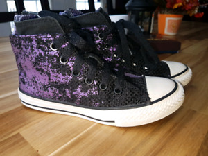 Converse All Star  Chuck Taylor Purple & Black