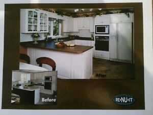 KITCHEN CABINET REFACING Peterborough Peterborough Area image 1