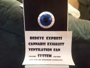 Two Window Mount Cannabis Smoke Exhaust Fans $100-$150