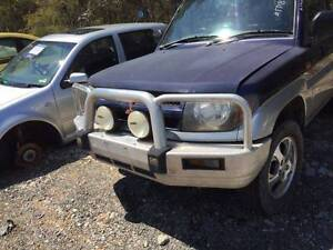 1999 Mitsubishi Pajero TJM  Bull bar SOLD nd Tow bar $100 call us Willawong Brisbane South West Preview