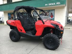 BLOWOUT PRICE!!! 2014 Can Am Commander for only $89 bi-weekly!!!