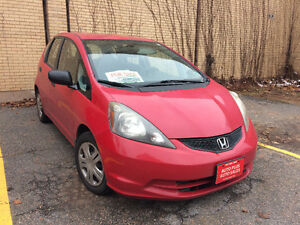 2009 Honda Fit black Hatchback