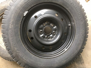 Kia Sportage Winter tires barely used