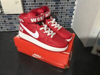 Nike Air Force 1 mid boot, UK 7